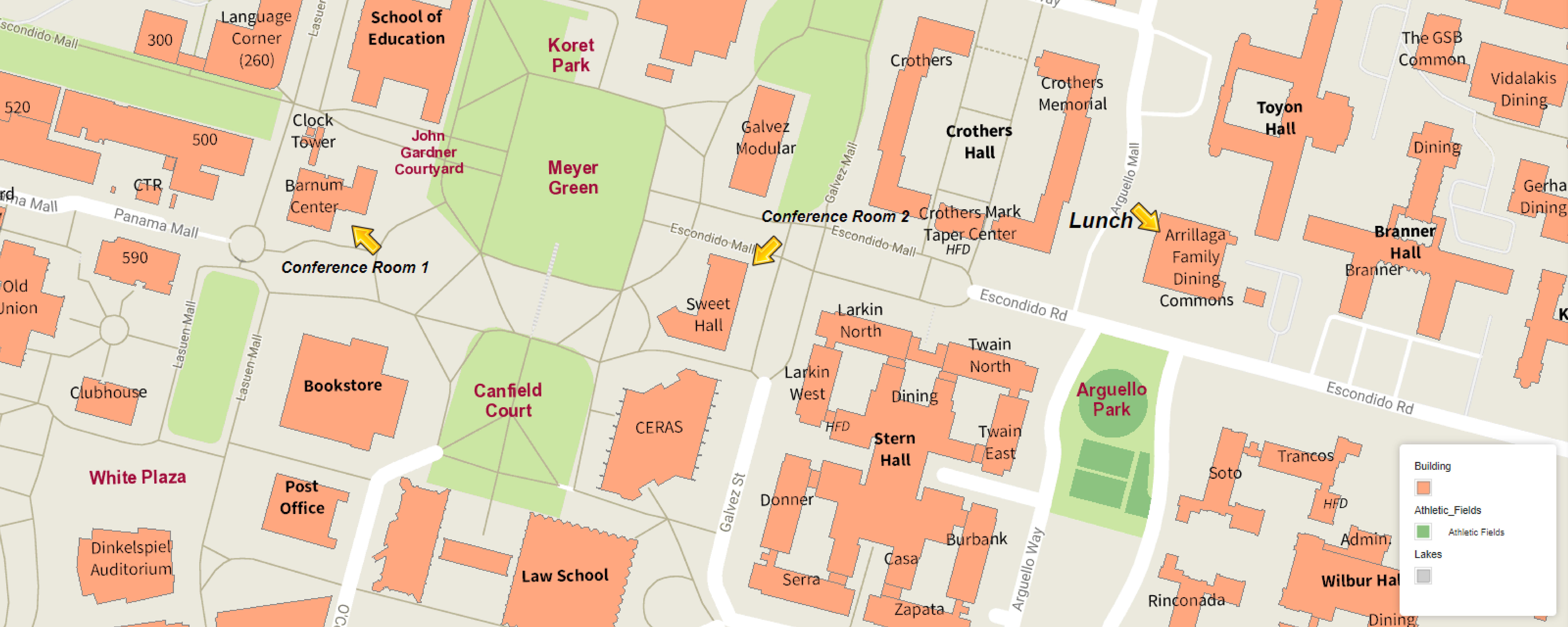 Stanford University Custom Map Maker
